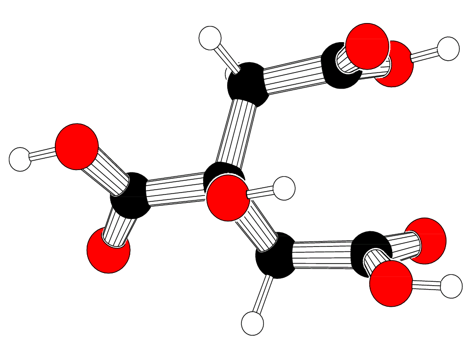 Citric-acid-3d