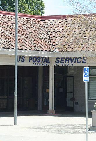 Freedom, California - Freedom Post Office.