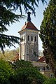 City of London Cemetery Traditional Crematorium East Chapel from Memorial Gardens 4.jpg