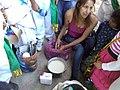 Clase de artes plásticas con niños de Ayahualulco, Veracruz, México 02.jpg