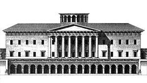 Claude Nicolas Ledoux - Château de Mauperthuis, 1763 (demolished)