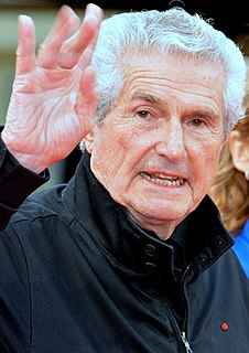 Claude Lelouch French film director, writer, cinematographer, actor and producer