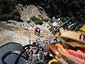 Climber ascends the Prow.jpg