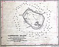 Clipperton Island cropped from Admiralty Chart No 1936 Islands in the North Pacific Ocean, Published 1849.jpg