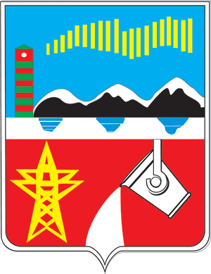 Pechengsky District - Image: Coat of Arms of Pechenga rayon (Murmansk oblast)