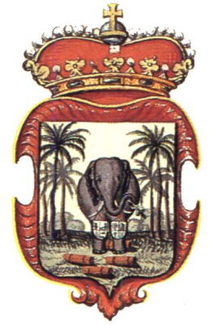 Dutch Ceylon - Image: Coat of arms Ceylon dutch colony