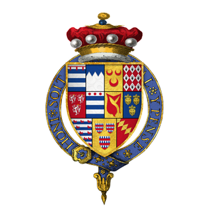 William Grey, 13th Baron Grey de Wilton - Arms of Sir William Grey, 13th Baron Grey de Wilton, KG