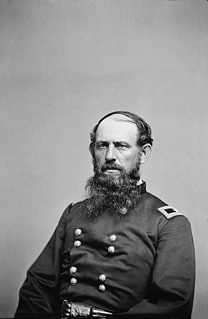 145th Armored Regiment - Gen. E.B. Tyler, first colonel of the 7th Ohio Volunteer Infantry.