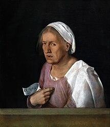 Giorgione: Old Woman