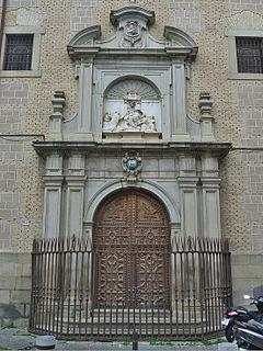 Real Colegio de Doncellas Nobles Building in Toledo, Spain