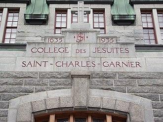 St. Charles Garnier College - Image: Collège Saint Charles Garnier (1)