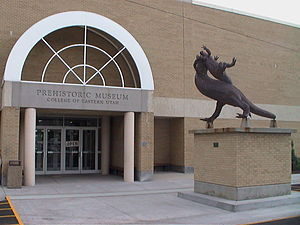 Utah State University Eastern - Image: College Of Eastern Utah Prehistoric Museum