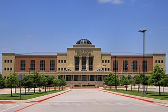 Collin County, Texas - Image: Collin county tx courthouse