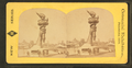 "Collossal hand and torch. Bartholdi's statue of ""Liberty."", from Robert N. Dennis collection of stereoscopic views.png"