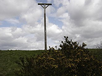 Combe Gibbet - Image: Combe Gibbet geograph.org.uk 1907