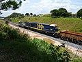 Comboios em cruzamento no pátio da Estação Ferroviária de Itu - Variante Boa Vista-Guaianã km 201 - panoramio (3).jpg