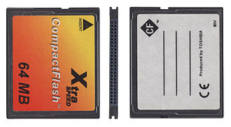 HDV - Type I CompactFlash card