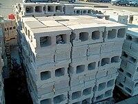 Concrete masonry unit