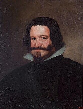 Siege of Saint-Omer - Portrait of Gaspar de Guzmán, Count-Duke of Olivares, by Diego Velázquez.