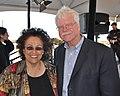 Congressman George Miller and Rev. Diana McDaniel (4809802160).jpg