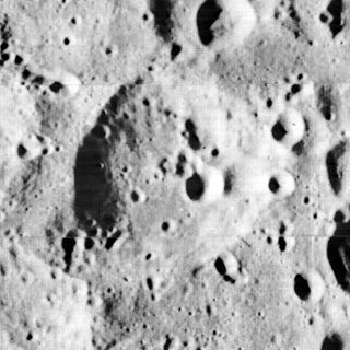 Congreve (crater) impact crater