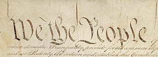 Constitution We the People., From WikimediaPhotos