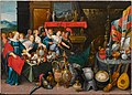 Cornelis de Baellieur or Workshop of Frans Francken the Younger- Achilles discovered among the daughters of Lycomedes.jpg