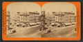 Corner of Kearny and Geary Streets, from Robert N. Dennis collection of stereoscopic views.png