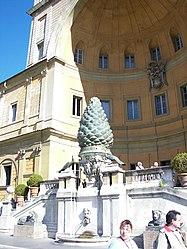 Cortile della Pigna pine cone 4.jpg
