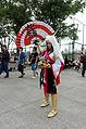 Cosplayer of Mitsunari Ishida, Sengoku Musou 3 in CWT39 20150228.jpg