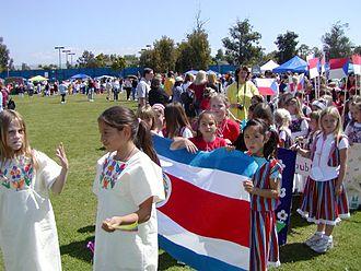 Mestizo - Costa Rican kids.