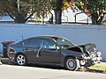 Crashed Subaru Legacy (28178565471).jpg