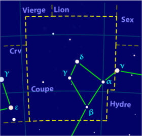 Image illustrative de l'article Coupe (constellation)