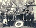 Crew on the deck of the four-masted British bark LYNTON, Puget Sound port, Washington, ca 1904 (HESTER 27).jpeg