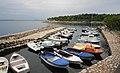 Crikvenica Hafen in der Kvarner Bucht, Kroatien.jpg