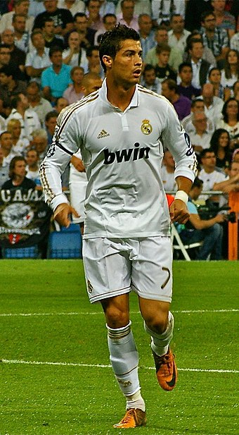 Cristiano Ronaldo, the first player ever to score against every team in a single season in La Liga. - Real Madrid C.F.