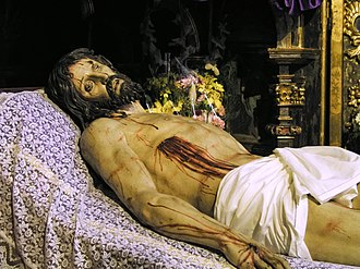 "Gregorio Fernández - ""Lying Christ"", Church of San Miguel, Valladolid."