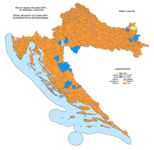 Croatia Map Geography Bosnian War Historical Political
