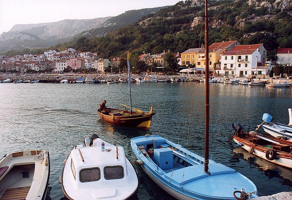 Croatia Baska Harbour