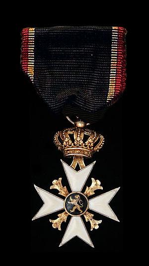 1830 Volunteers' Commemorative Cross - 1830 Volunteers' Commemorative Cross (obverse)