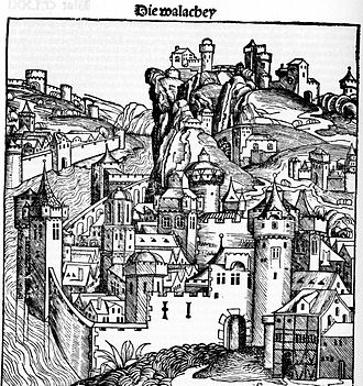 Wallachia - Wallachia as pictured in the 1493 Nuremberg Chronicle