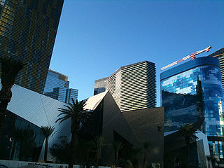 The Shops at Crystals shopping mall and entertainment district in CityCenter, Las Vegas