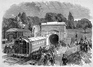 Crystal Palace pneumatic railway experimental atmospheric railway that ran in Crystal Palace Park in south London in 1864.