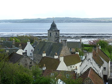 Culross Situated On The North Coast Of Firth Forth Village From Which Melville Took Her Courtesy Title Lady