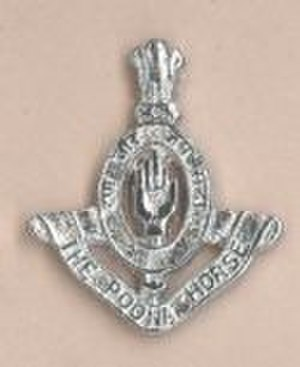 Poona Horse - Current Regimental Cap Badge