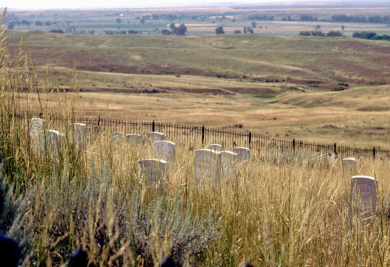 File:Custer National Cemetery at Little Bighorn Battlefield National Monument.jpg