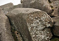 Cut stone on Great Trowlesworthy Tor.jpg