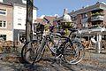 Dülmen, Fahrräder (vor dem Jubiläumsbrunnen) -- 2012 -- 8697.jpg