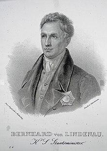 Bernhard von Lindenau. (Source: Wikimedia)