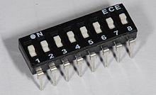 [SCHEMATICS_4PO]  DIP switch - Wikipedia | Wiring Diagram Spdt Dip Switch Configuration |  | Wikipedia